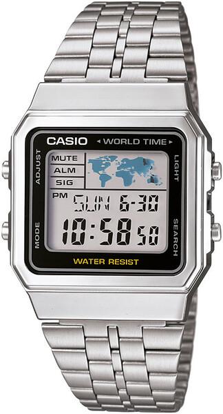 Casio - Casio A500WA-1DF Erkek Kol Saati