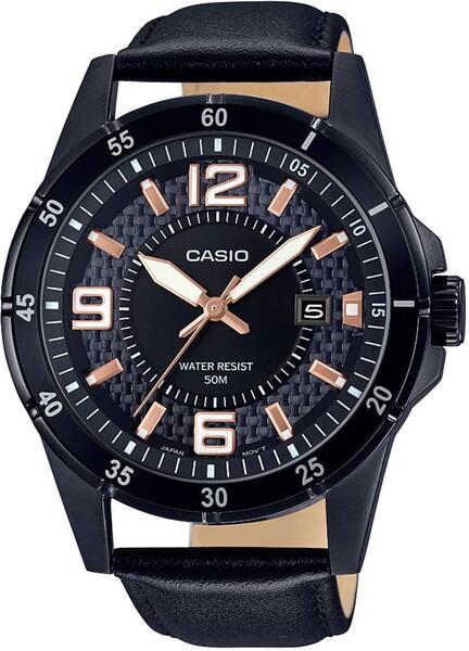 Casio - Casio MTP-1291BL-1A2VDF Erkek Kol Saati