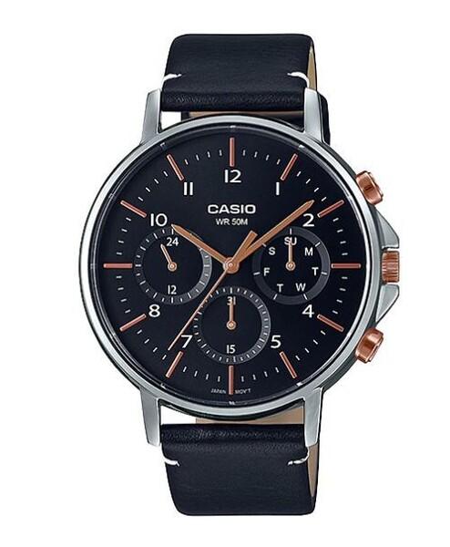 Casio - Casio MTP-E321L-1AVDF Erkek Kol Saati