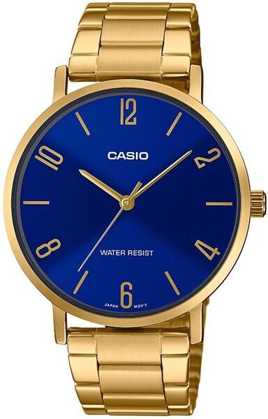 Casio - Casio MTP-VT01G-2B2UDF Erkek Kol Saati