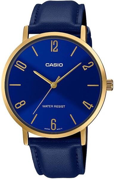 Casio - Casio MTP-VT01GL-2B2UDF Erkek Kol Saati