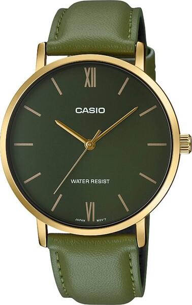 Casio - Casio MTP-VT01GL-3BUDF Erkek Kol Saati