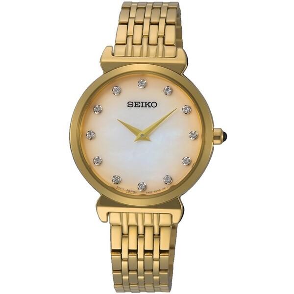 Seiko - Seiko SFQ802P Kadın Kol Saati