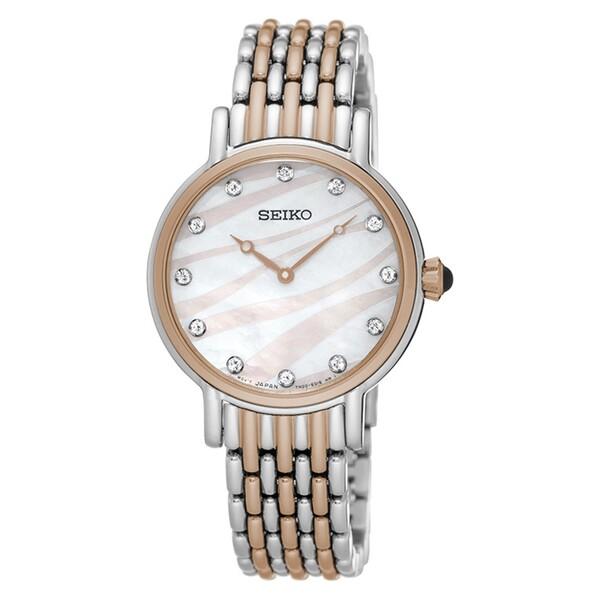 Seiko - Seiko SFQ806P Kadın Kol Saati
